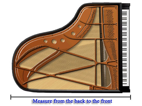 How to measure your grand piano